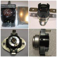 Snap Disc Thermostat Fan Sensors