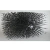 """Rutland 12"""" x 8"""" rectangular wire chimney sweep brush."""