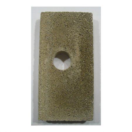 SRV435-0800 Quadrafire Fire Brick with holes