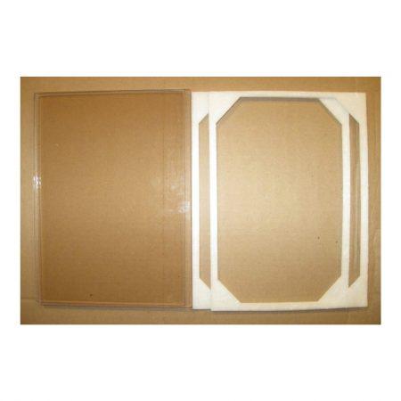Buck Stove Glass Double Door set 6-1/2 x 9