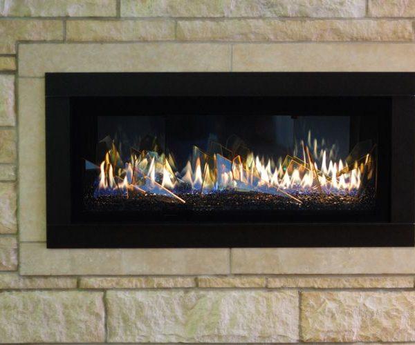 Stellar CML 58 Contemporary Gas Fireplace