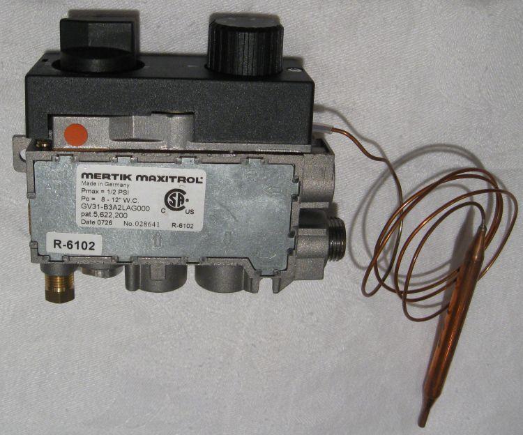 Maxitrol Lp Gas Valve Gv31 B3a2lag0001 R 6102 Empire