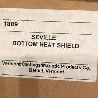 1889 Vermont Castings Sevillle Heat Shield