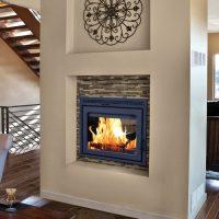 Duet See Through Fireplace