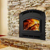 Quadrafire Pioneer III Wood Fireplace